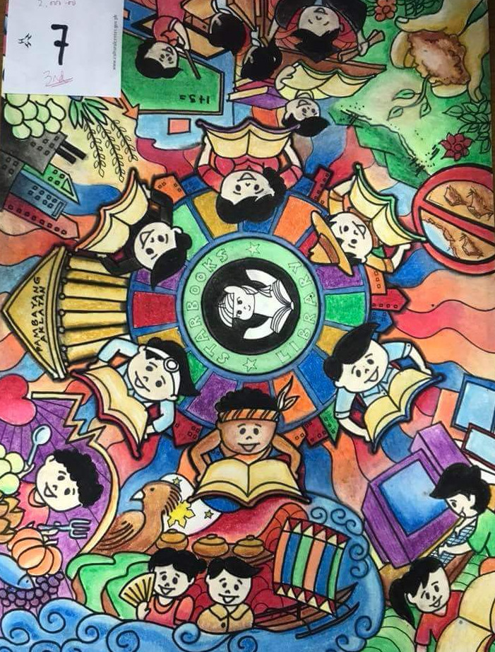3rd Place Poster Making Contest : Panukalan Municipal Library
